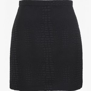 French Connection black luxe skirt - never worn